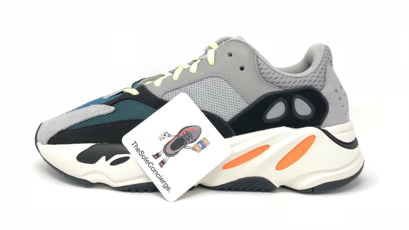 ADIDAS Originals Yeezy B75571. Boost 700 WaveRunner B75571. Yeezy UK7.5/US8. 100% Autentico! 79f81f