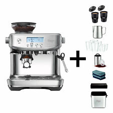 Sage The Barista Pro Espresso Maschine Siebträger Edelstahl inkl. Barista Pack