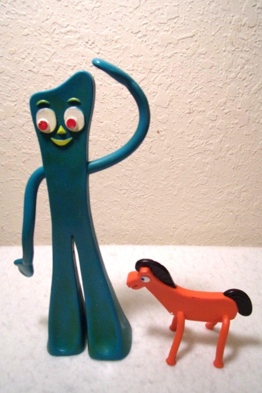 Vintage 10.5    Gumby Pokey Bendable Character Trendmasters Prima Toys 1995 Rare  56fe8c