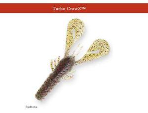 """Z-Man Turbo CrawZ 4/"""" Canada Craw 6 Pack Zman Soft Plastic Crawdad"""