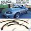 Mazda Miata MX 5 Fender Flares Set Miata NA 89-97 Wide Body Wheel Arches Trim