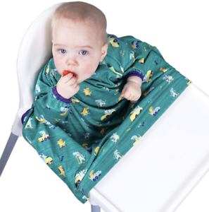 BIBaDO Attaches to Your highchair, The Award Winning Coverall Weaning Bib
