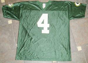 reputable site 661d1 a11b0 Details about 2Xl Brett Favre NFL Green Bay Packers Football Jersey