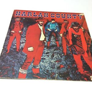 Harlan-County-Self-Titled-Vinyl-LP-6366-002-VG-VG-Crackles-but-plays-well