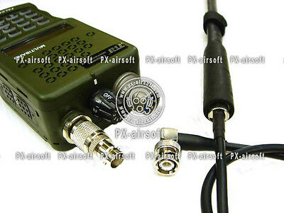 aor1,crye,mbitr,navy seals,msa Antenna Extension Cable for TRI PRC-148 152 Radio