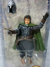 The Lord Of The Rings PIPPIN IN ARMOR WITH REMOVABLE HELMET SWORD ROTK LOTR NEW