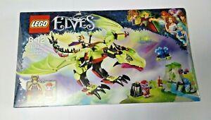 LEGO-ELVES-41183-IL-DRAGO-MALVAGIO-DEL-RE-GOBLIN-KING-039-S-EVIL-DRAGON-COSTRUZIONI