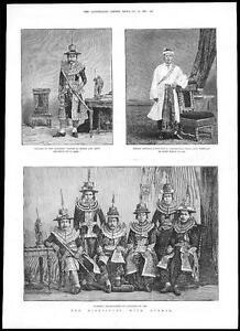 1885-BURMA-Burmese-Traditional-Costumes-Kyouk-Nyoung-Atwin-Woon-Ambassadors-135