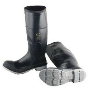 ab2d7f07a63 Details about Onguard Industries Black 16'' Polyblend PVC-Polyurethane  Chemical Resistant Boot