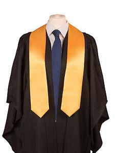 University Graduation Stole (sash) in Satin- Academic gown ...