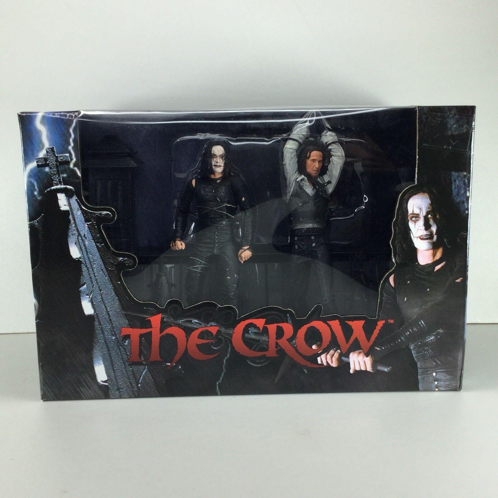 Neca Reel juguetes figura de acción El Cuervo Set Nuevo Horror Cult Movie Brandon Lee