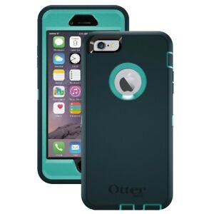 first rate 8ed1c 7c592 Details about OtterBox Defender Case for Apple iPhone 6/6s TealTeal - OASIS