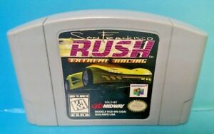 San-Francisco-Rush-Racing-Authentic-Nintendo-64-Rare-Game-N64-Tested-Working