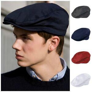 874661dadf Details about Ivy Flat Cap Herringbone Hat Gatsby Newsboy Baker Boy Cabbie  Elasticated Mens