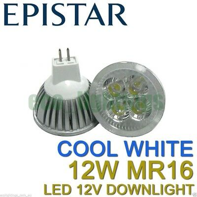 6 X LILIANO LED MR16 15W 12V bulb downlight globe lamp WARM WHITE NON DIMMABLE