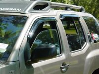 Tape-on Vent Visors 4 Piece For A Ford Excursion 2000 - 2005