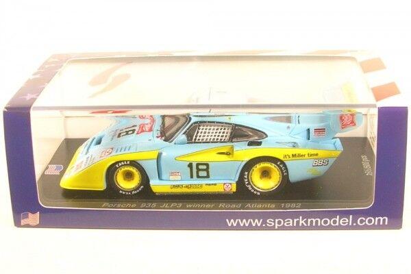 PORSCHE 935 jlp3 n. 18 WINNER Road Atlanta 1982  John Paul Jr.