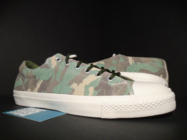 Converse Cons CTS Ox Chuck Taylor Camo Chive Green Earth Brown White  136110c 11  c75163ad7f