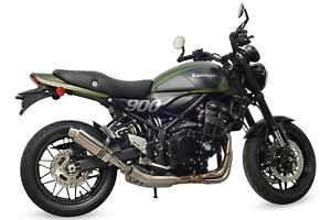 Image Is Loading Kawasaki Z900rs 2018 Sp Engineering Polished Stainless Round