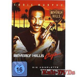 Beverly-Hills-Cop-1-2-3-3-DVD-Box-Eddie-Murphy-Komplette-Trilogie-Neu-OVP