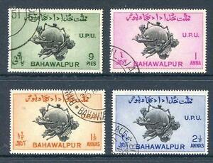 Bahawalapur-1949-UPU-set-4-good-perforations-fine-used-2013-04-29-10