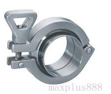 2 Tri Clamp X 51mm Pipe Od Sus304 Sanitary Tri Clover Union Set Homebrew