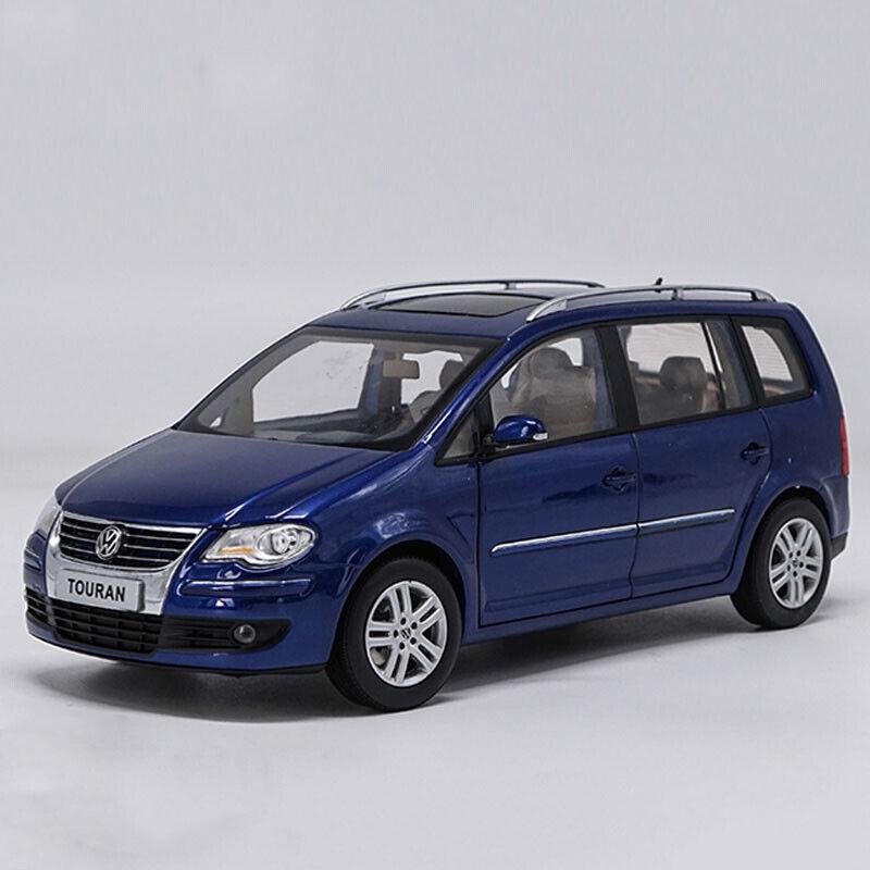 Original1 18 Shanghai Volkswagen TOURAN 2009 alloy model 5 color gift collection