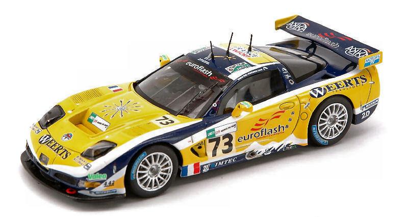 Corvette C5 R  73 Le Mans 2007 1 43 Model S0169 SPARK MODEL