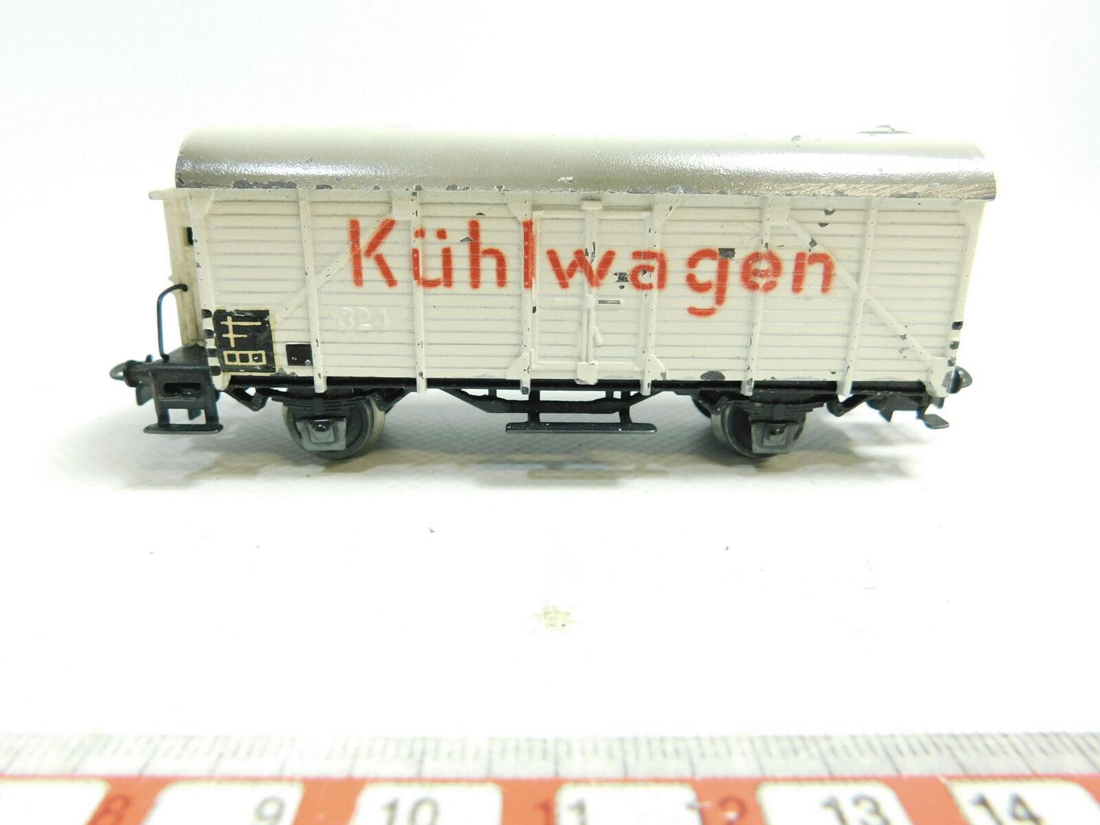 AW391-0,5Märklin H0 00 AC Guss-Kühlwagen Güterwagen 324 s.g.