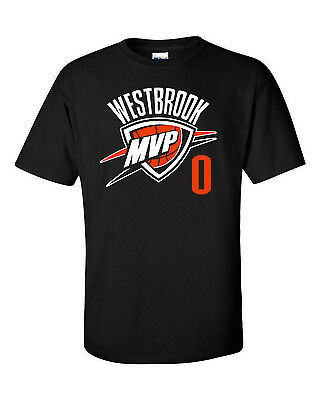 """BLUE Russell Westbrook Oklahoma City /""""0KC/""""  T-Shirt or Long Sleeve"""