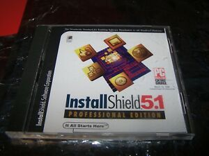 InstallShield-5-1-111-12002-0298-Software-SOLD-AS-IS