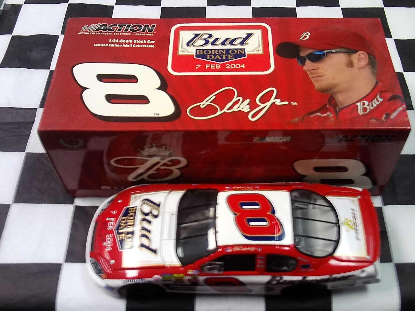 Dale Earnhardt Jr   8 Budweiser Born On Date 2004 Monte voiturelo 1 24 Action 106369  centre commercial professionnel intégré en ligne