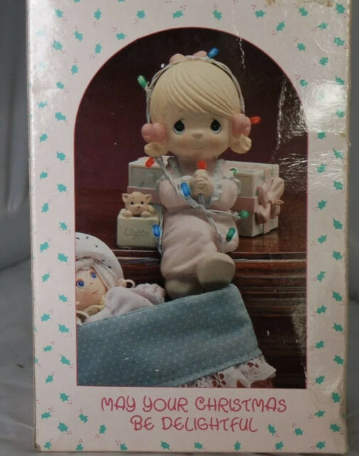Precious Moments May Your Christmas Be Delightful Stocking Hanger