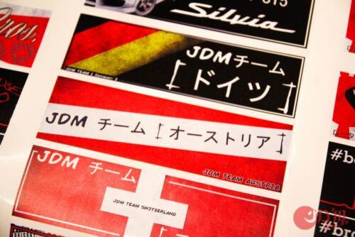 JDM équipe Austria Décalque Autocollant vinyle Japon Drift toyota supra t20 Celica gt4