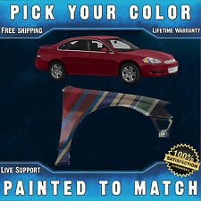 NEW Painted To Match - Passengers Front Right Fender for 2006-2013 Chevy Impala