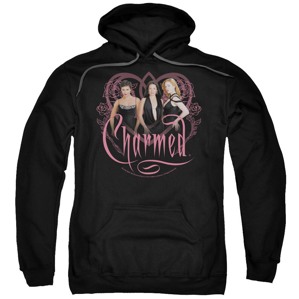 Charmed TV Show Cast CHARMED GIRLS Licensed Sweatshirt Hoodie
