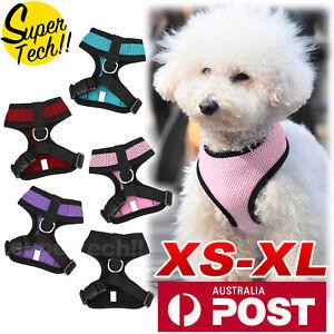 Pet-Dog-Cat-Puppy-Soft-Leash-VEST-Mesh-Breathe-Adjustable-Harness-Braces-Clothes