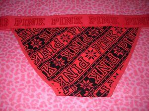 b5dbc41ec27 Image is loading Victorias-Secret-PINK-Low-Rise-Bikini-Underwear-Pantie-