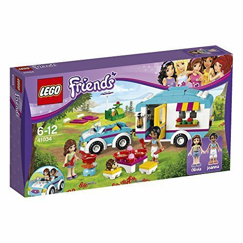 Lego Lego Friends Summer Caravane Kids Play Building Set avec Minifigures