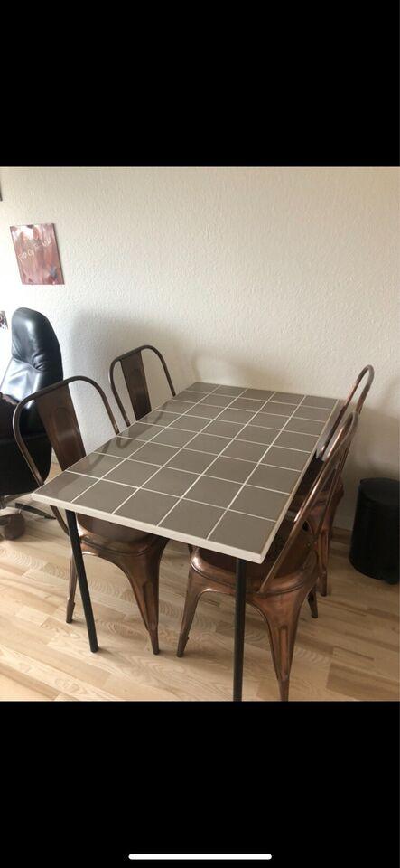 Spisebord, Klinkebord/Flisebord/Mosaikbord