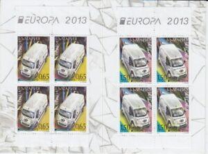 D-Europe-Cept-2013-Bulgaria-Markenheft-MNH