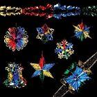 Christmas Foil Ceiling Decorations Garlands Stars Snowflakes – Multi-Colour