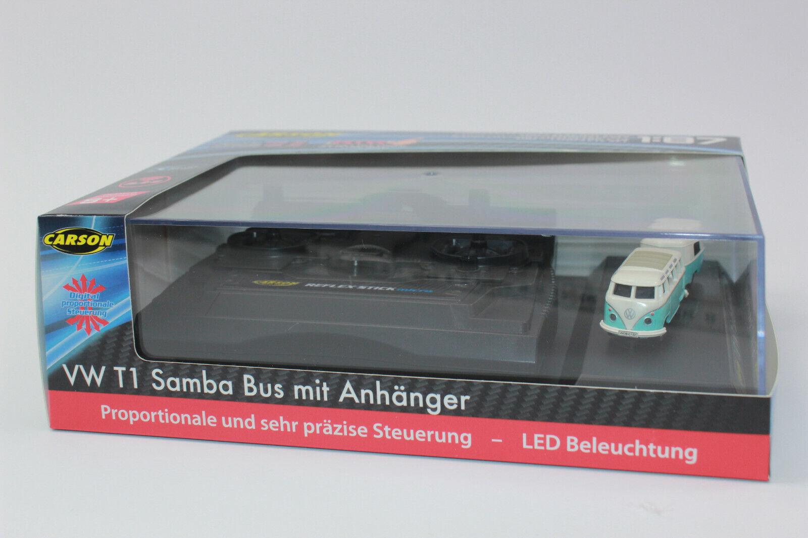 Cocheson 500504122 VW t1 samba bus + remolques 2.4g 1 87 100% rtr nuevo embalaje original