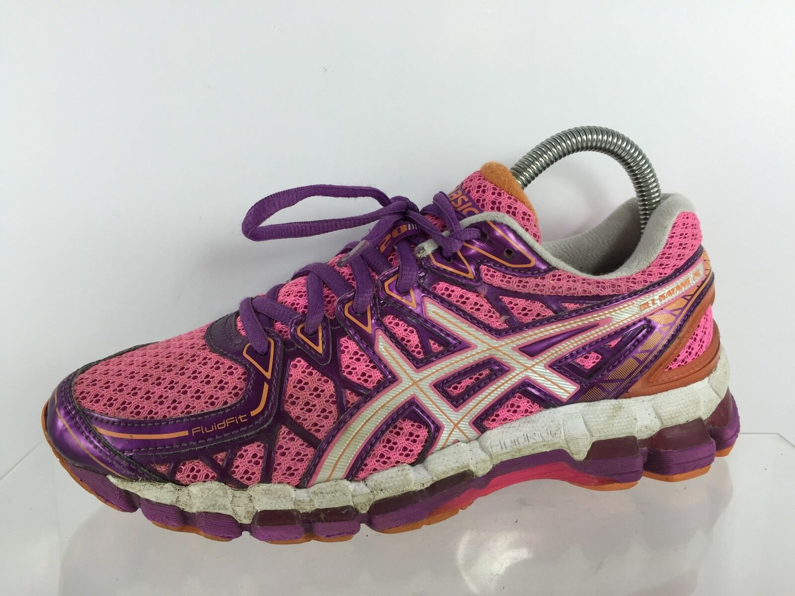 Asics Gel Kayano 20 Womens Pink Multi color Athletic shoes 7