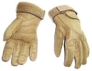 HEAVY-DUTY-SPECIAL-OPS-GLOVES-military-work-Army-ultra-tough-mens-XL-sand