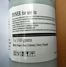 RICOH AFICIO 1060 1075 2051 MP6000 + 1100g BLACK 43k - leak under cap COMPATIBLE