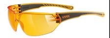 Uvex Sportstyle 204 Orange Shooting Skiing Cycling Safety Glasses uv-a uv-b uv-c