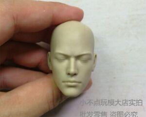 Toys-1-6th-Head-Scuplt-Carving-Monk-White-Mold-Universal-Change-Figure-Toys-Gift