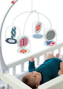 Last Chance Wimmer Ferguson Infant Stim Cot Baby Visual Sensory Mobile Toy 0m