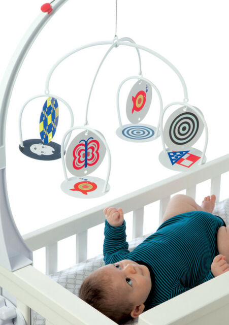NEW Wimmer Ferguson Infant Stim Cot Baby Visual & Multi Sensory Mobile Toy 0m+
